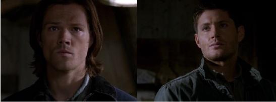 Sam & Dean Showdown Faces